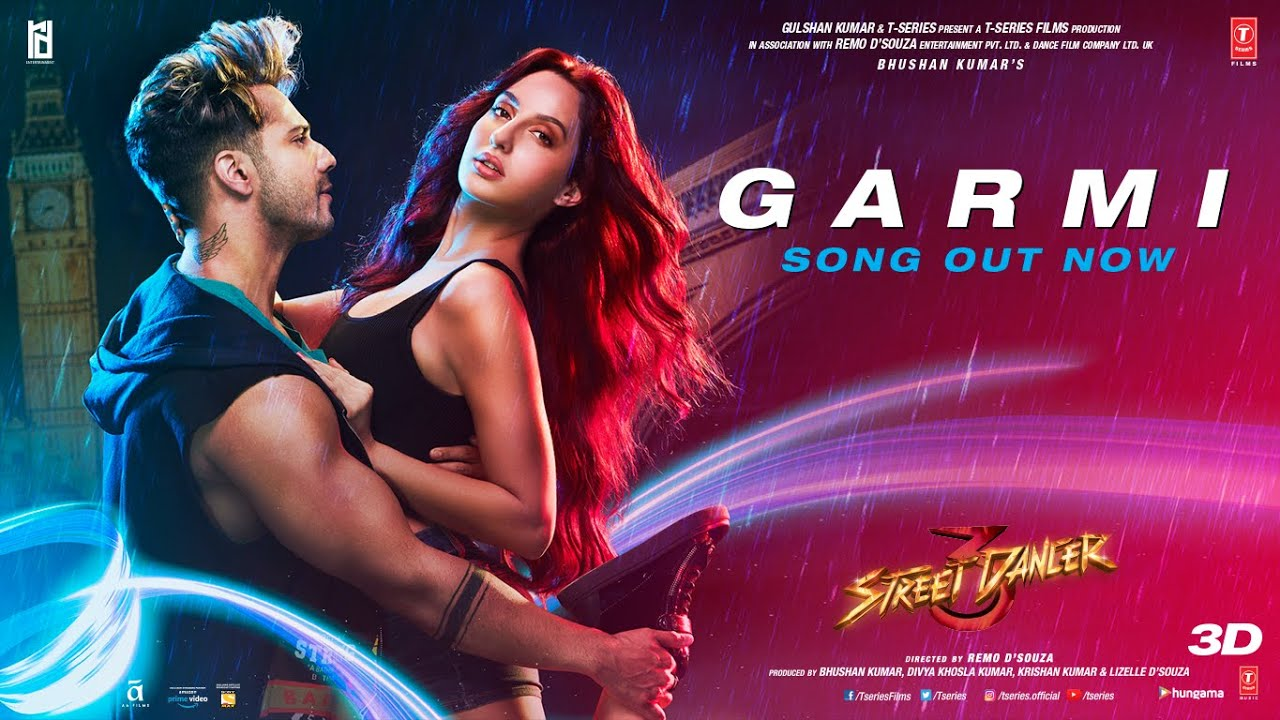 GARMI LYRICS – STREET DANCER 3D